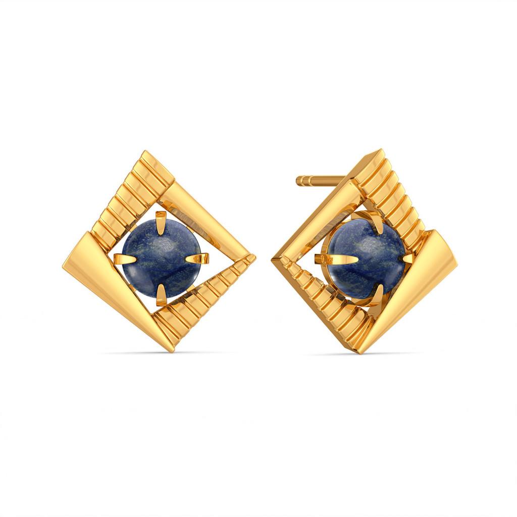 Jive in Jeans Gemstone Earrings