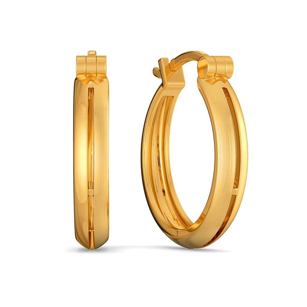 Dame francaise Gold Earrings