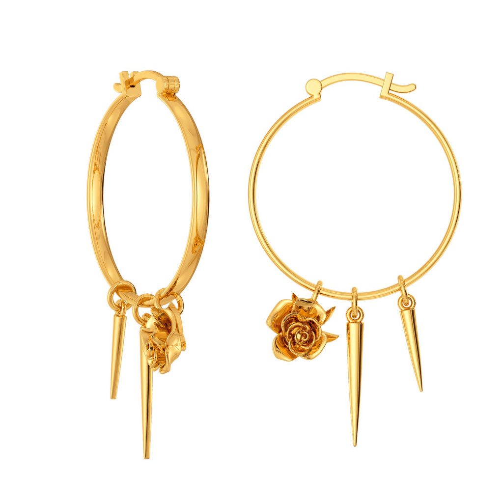 Aphrodite Rose Gold Earrings