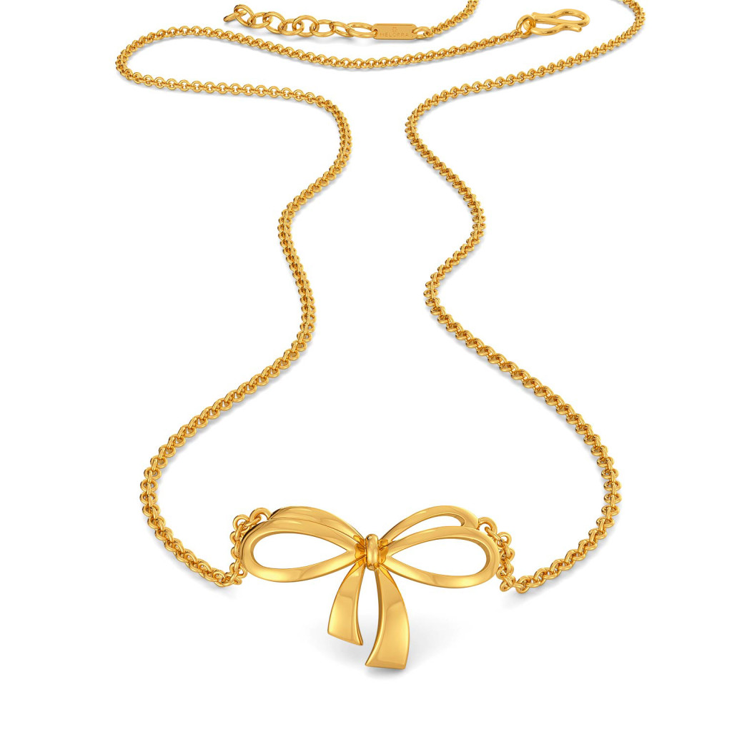 Knot Trot Gold Necklaces