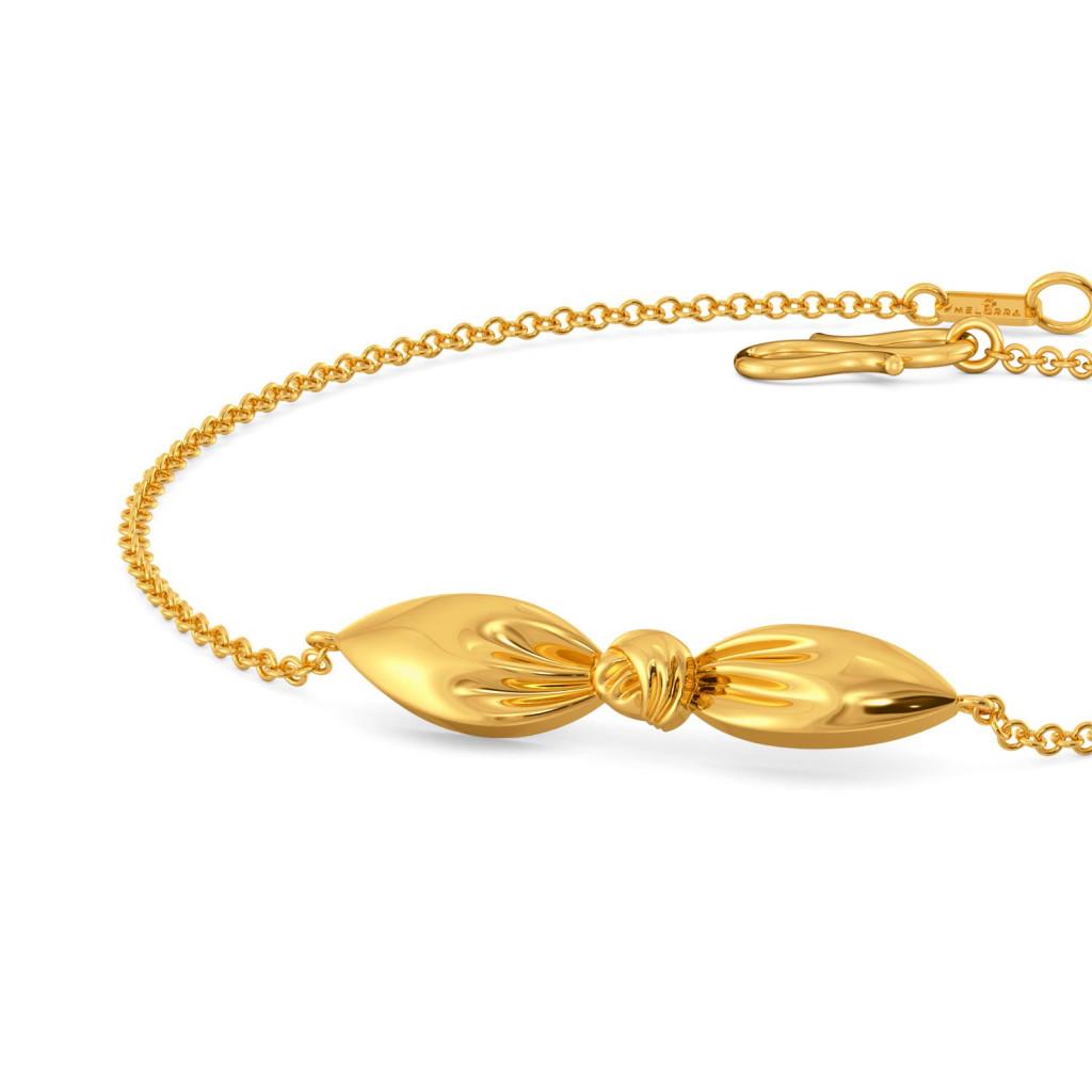 Knot Plot Gold Bracelets