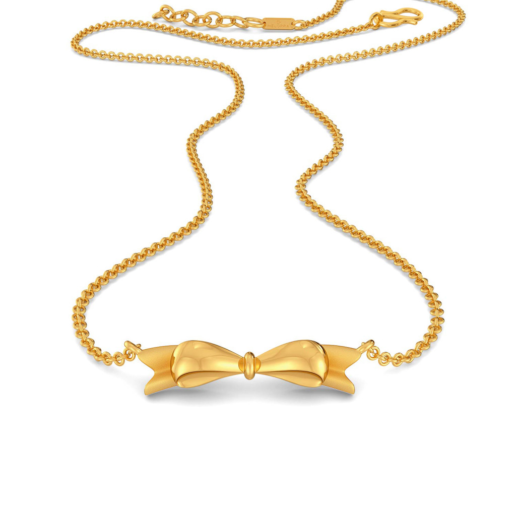 Tales of Bow Gold Necklaces