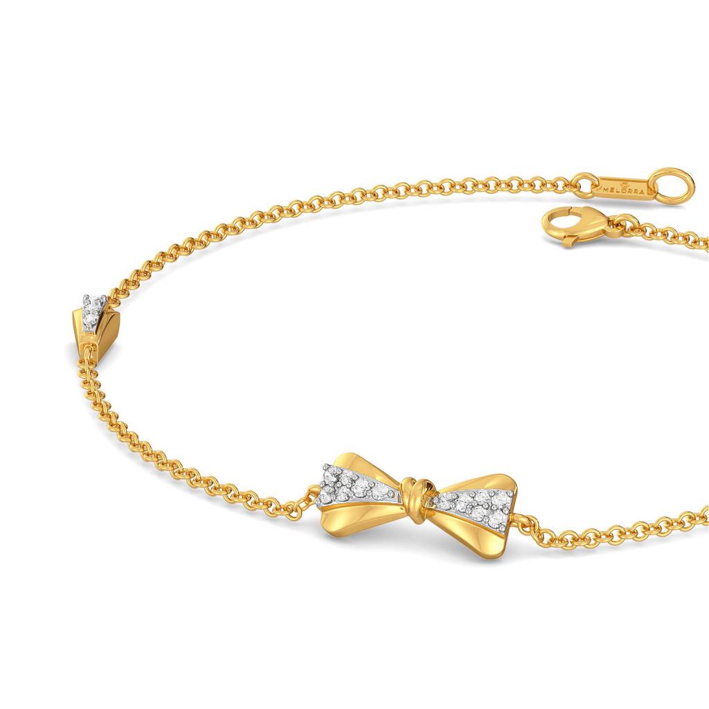 Twinkly Knots Diamond Bracelets