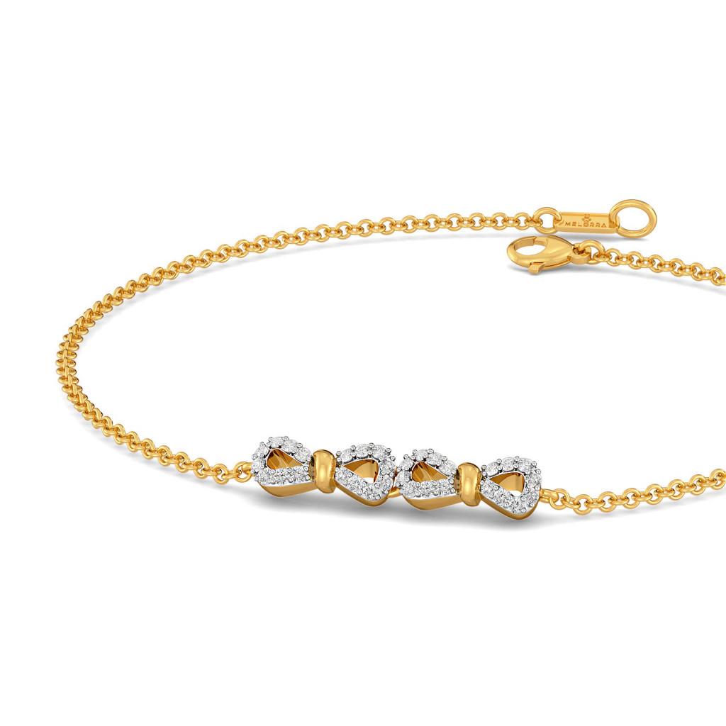 Goofy Loops Diamond Bracelets