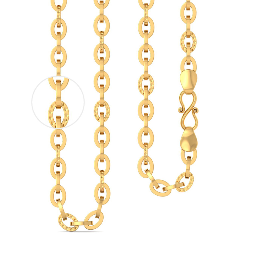 22k Mega sized cable link Gold Chains