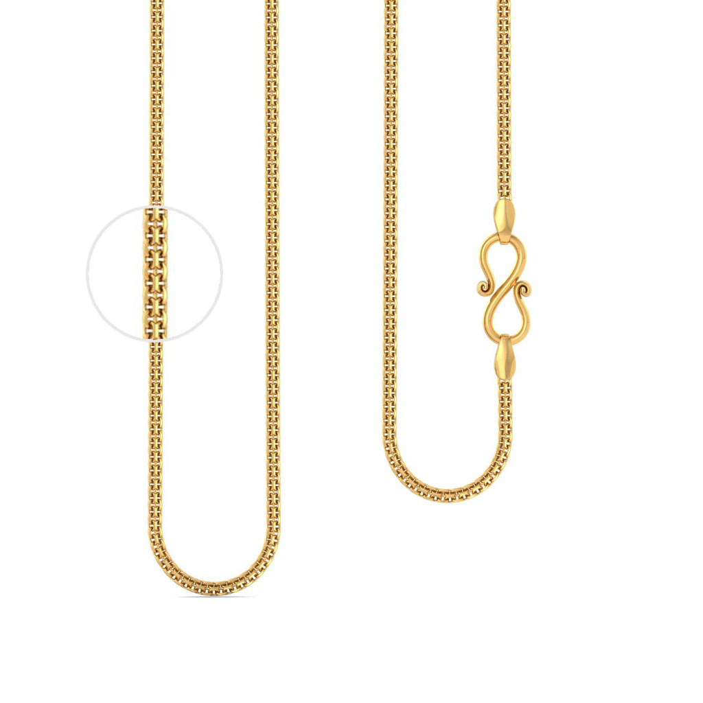 22k Multi anchor chain Gold Chains
