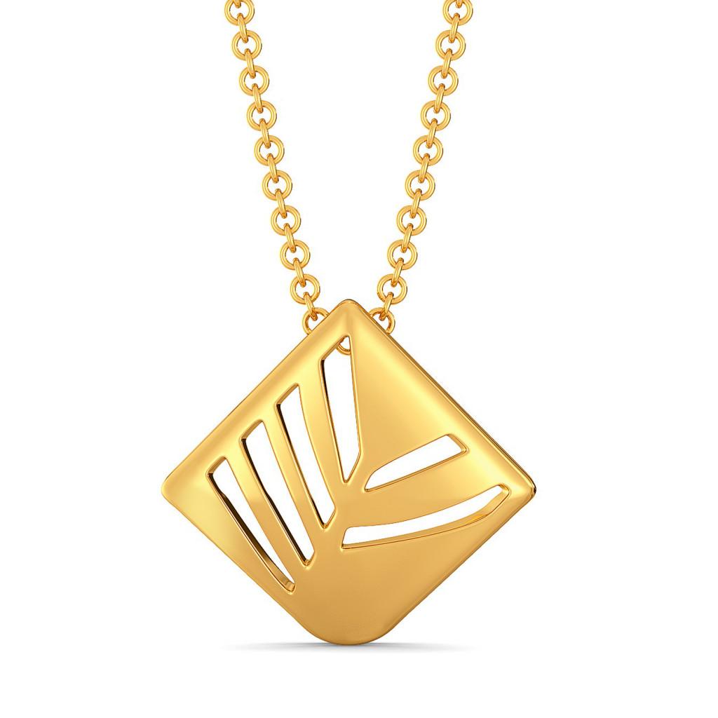 The Ocean Potion Gold Pendants