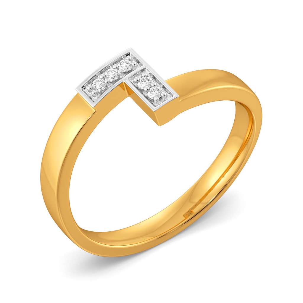 Plaid Ful Diamond Rings