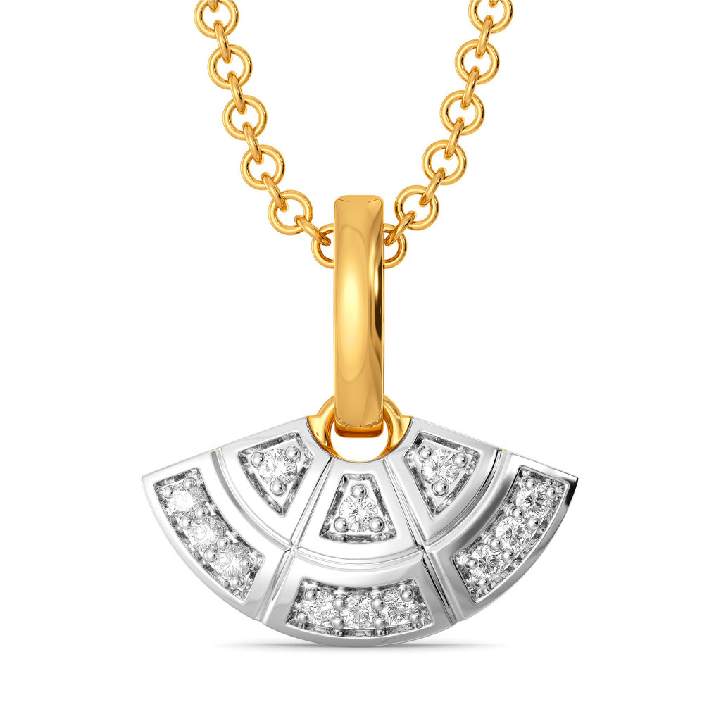 Checks Club Diamond Pendants