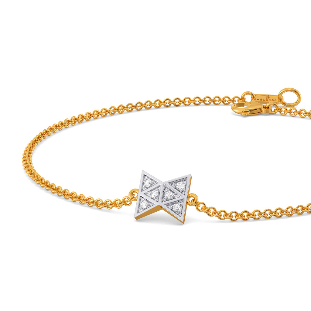 The Plaid Patch Diamond Bracelets