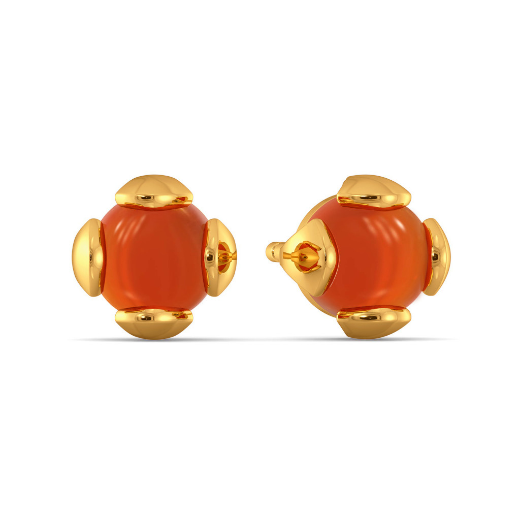 Calming Corals Gemstone Earrings