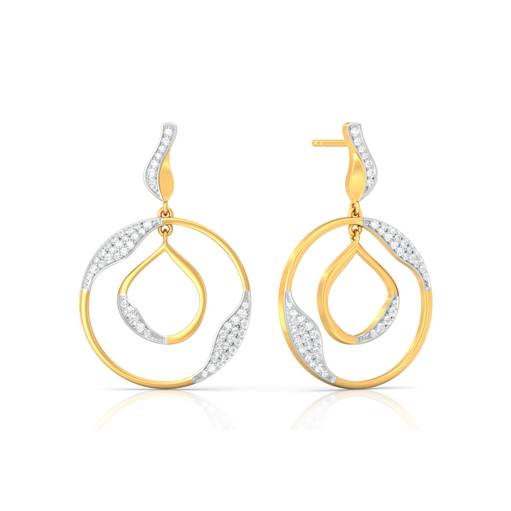 The Twist Diamond Earrings
