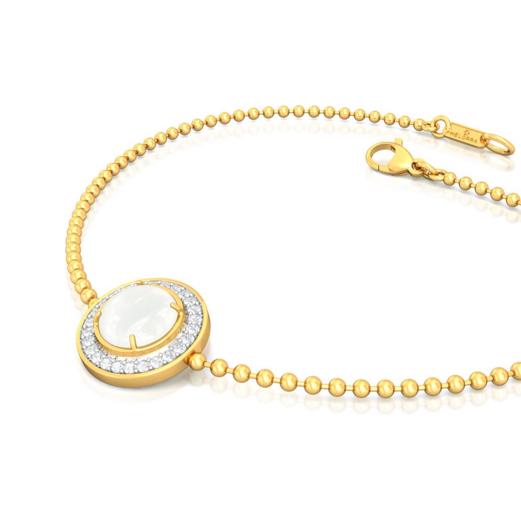Snow Moon Diamond Bracelets
