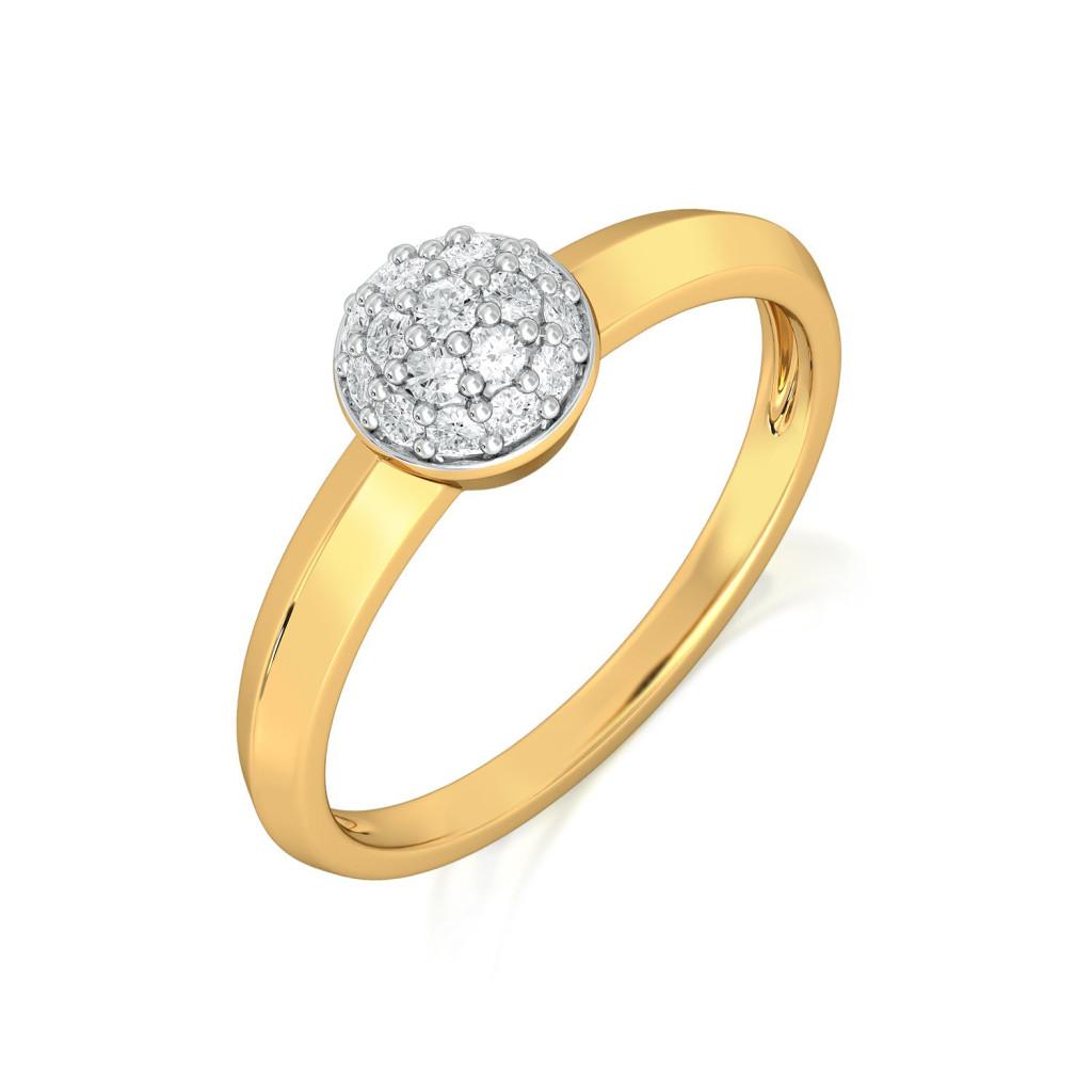 Heed the Bead Diamond Rings