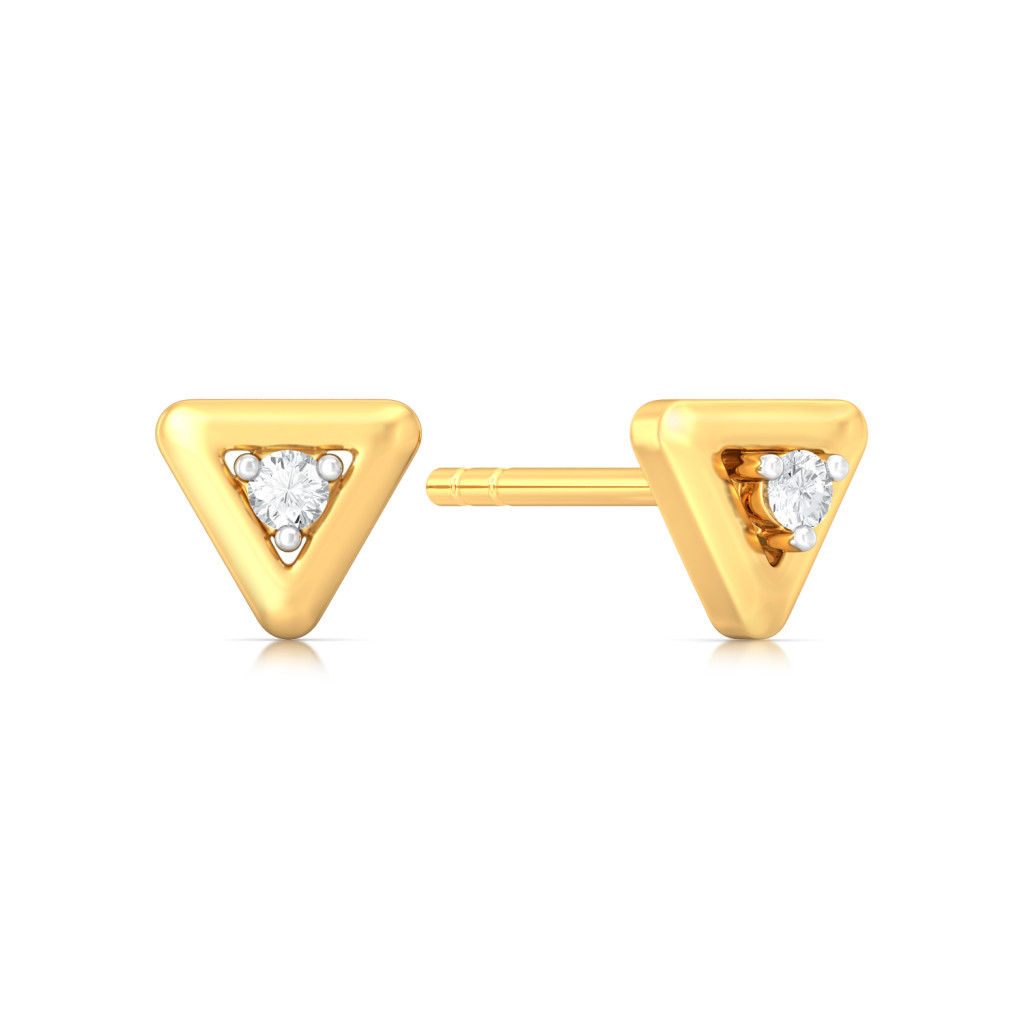 Center of Attraction Diamond Earrings