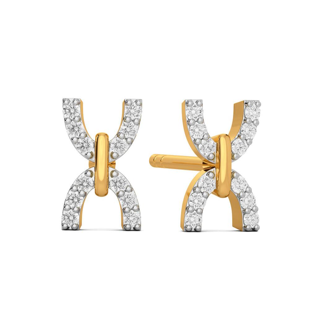 Yester Hue Diamond Earrings