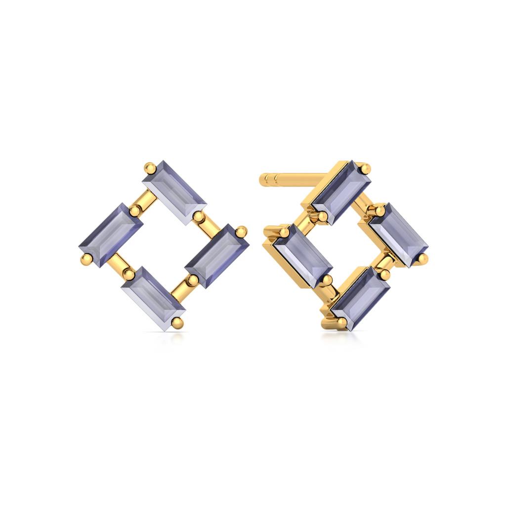 Serge de Nimes Gemstone Earrings