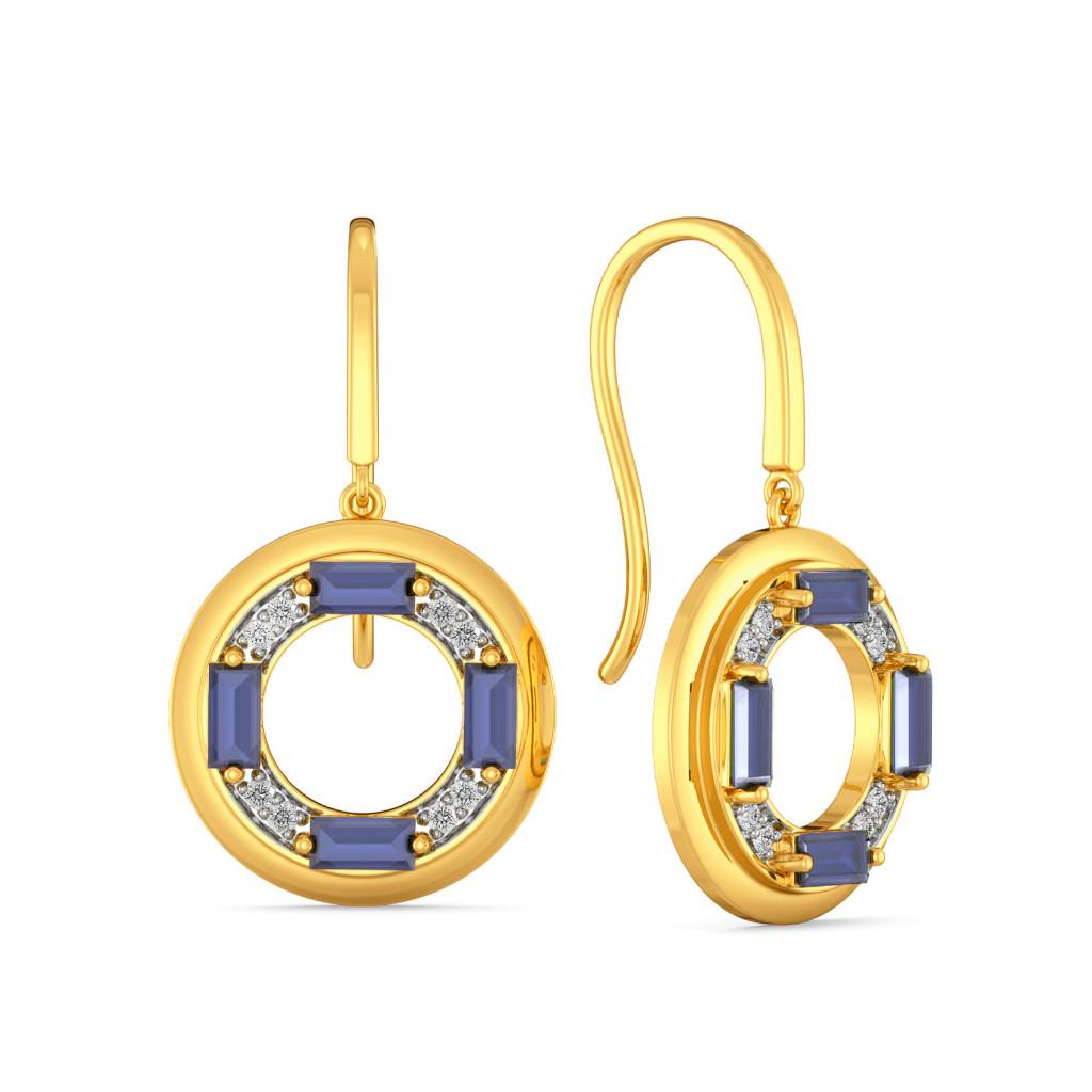 Wheel Deal Diamond Earrings