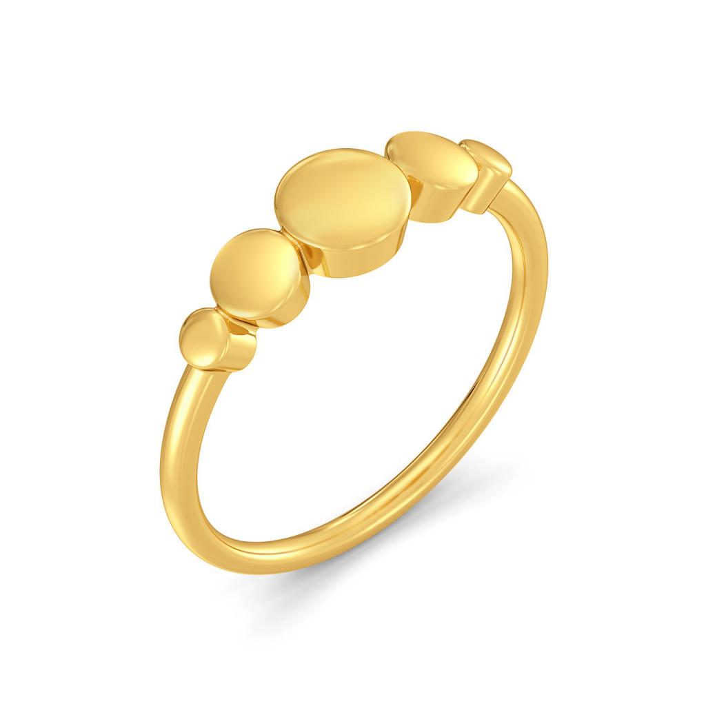 Corvetta Gold Rings