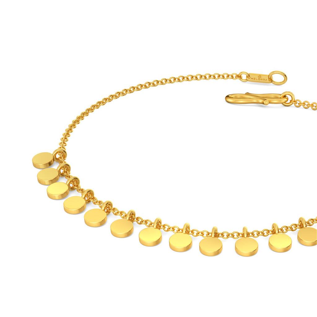 Sparkle Startle Gold Bracelets