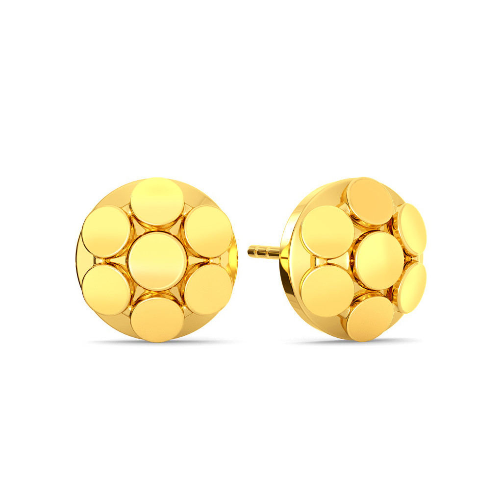 A Trinket Junket Gold Earrings