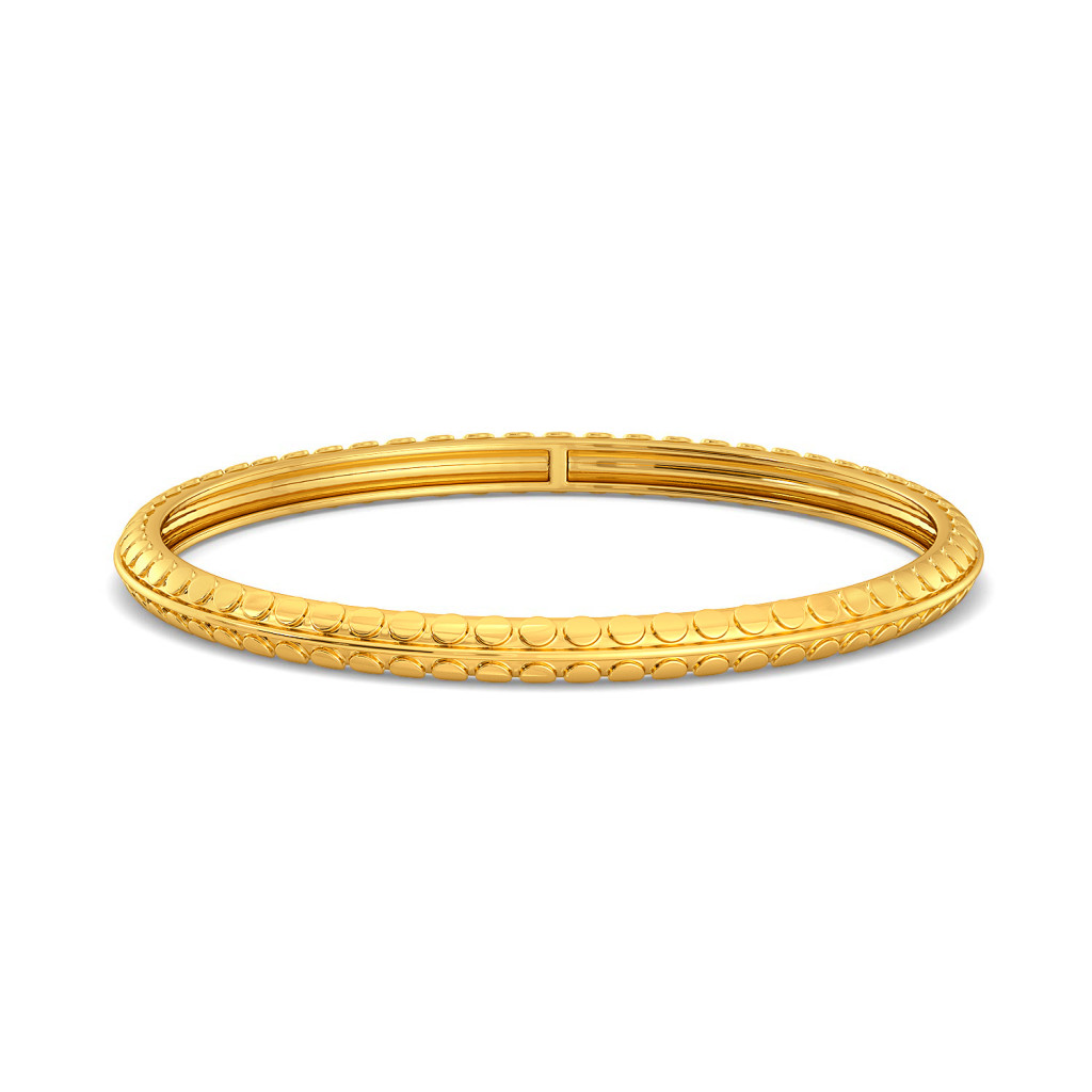 Sparkle Coats Gold Bangles