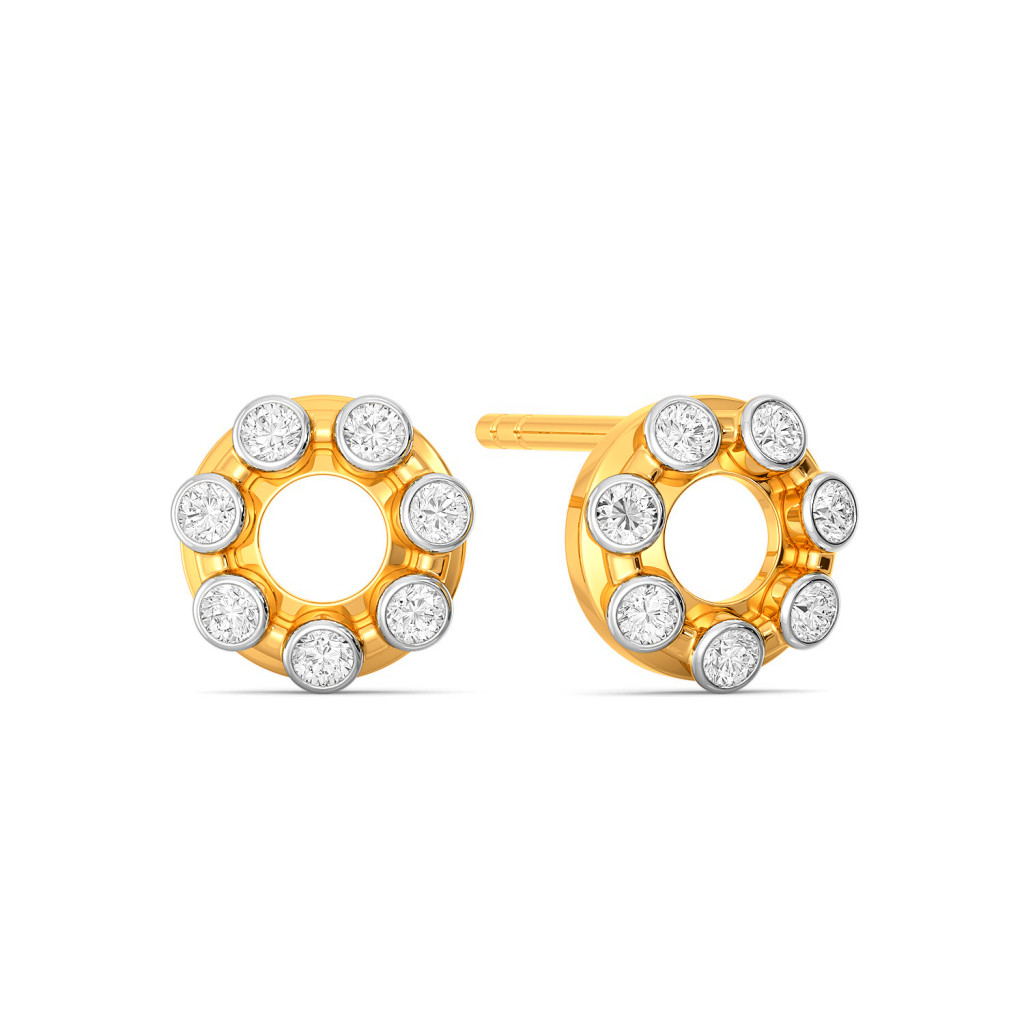 Hoop Loops Diamond Earrings