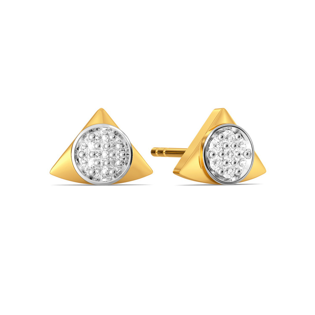 Triple Beats Diamond Earrings