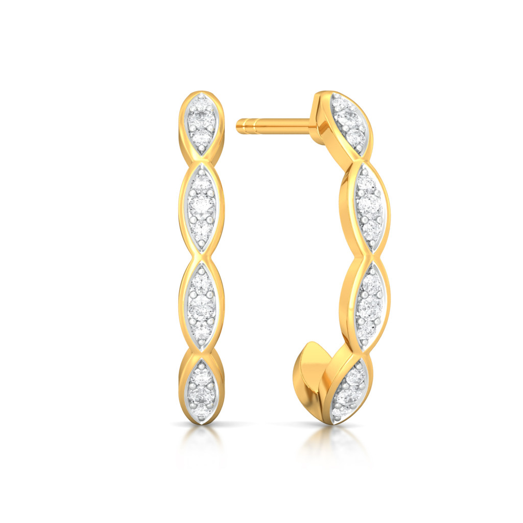 I for Infinity Diamond Earrings
