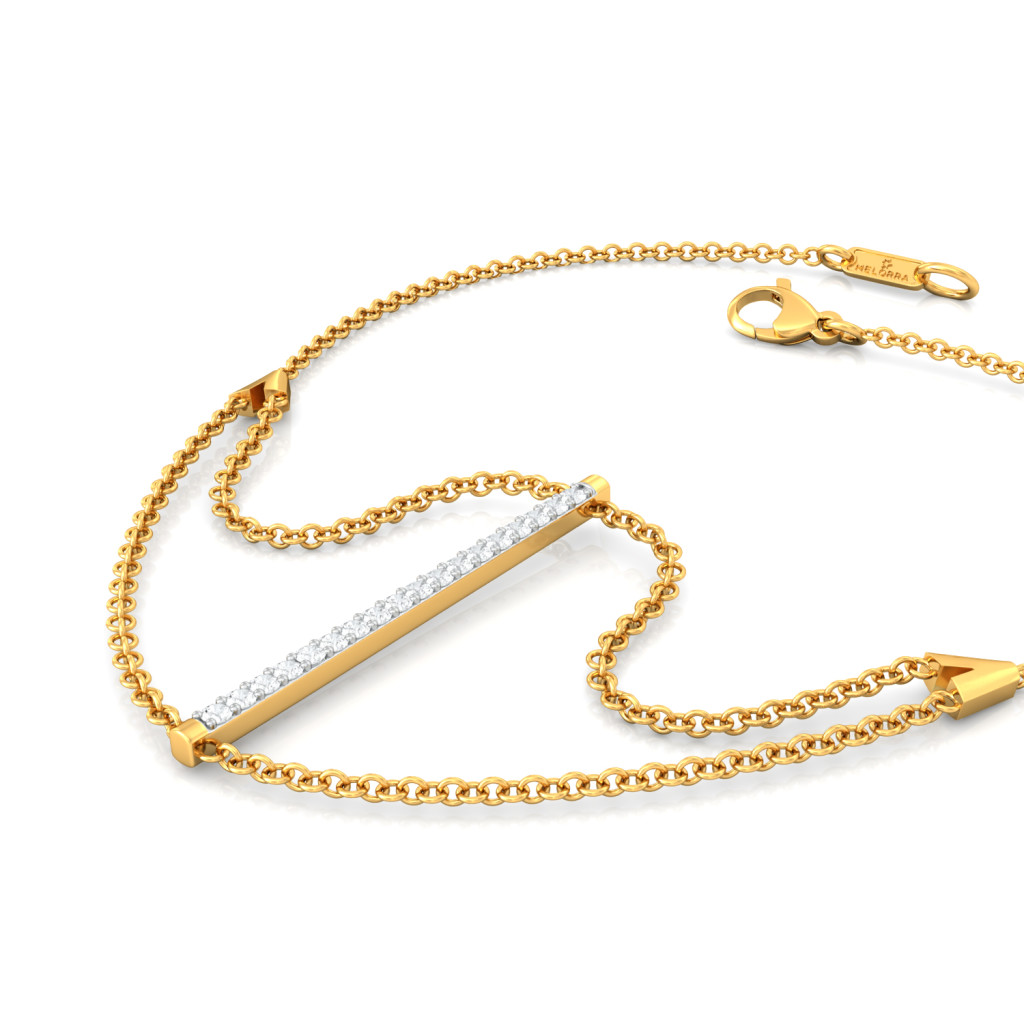 Bar Code Diamond Bracelets