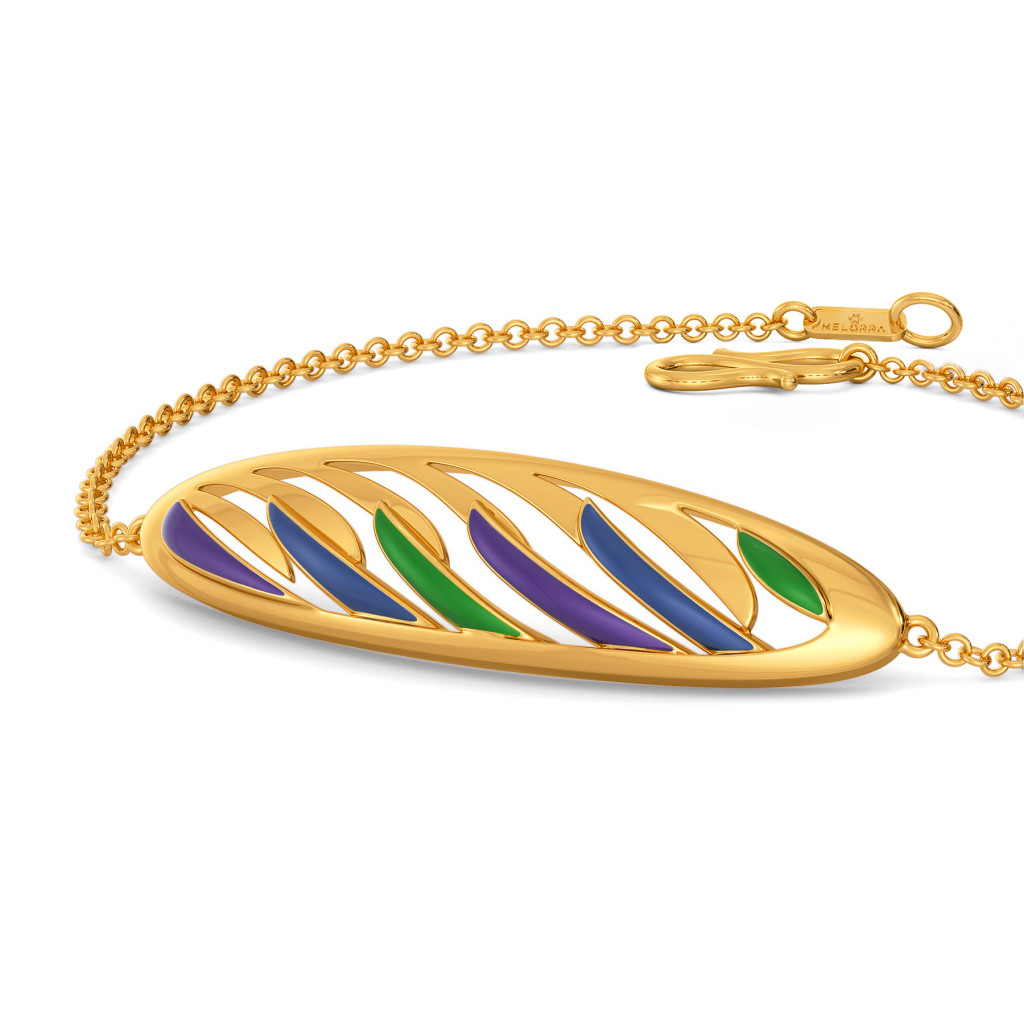Plume Pop Gold Bracelets