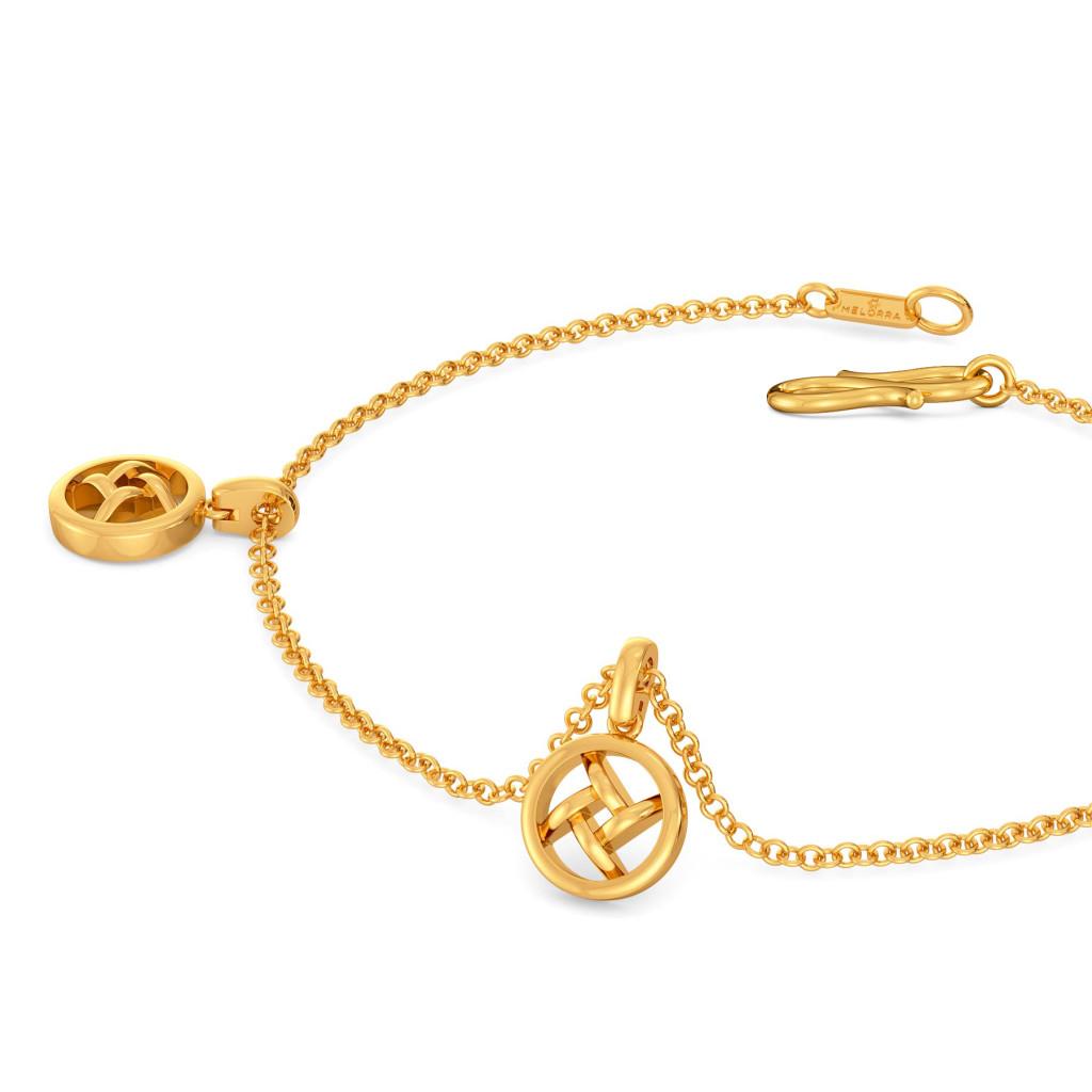 Slay in Crochet  Gold Bracelets