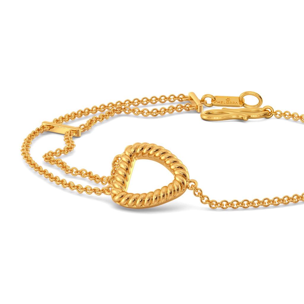 Fringe Refresh Gold Bracelets