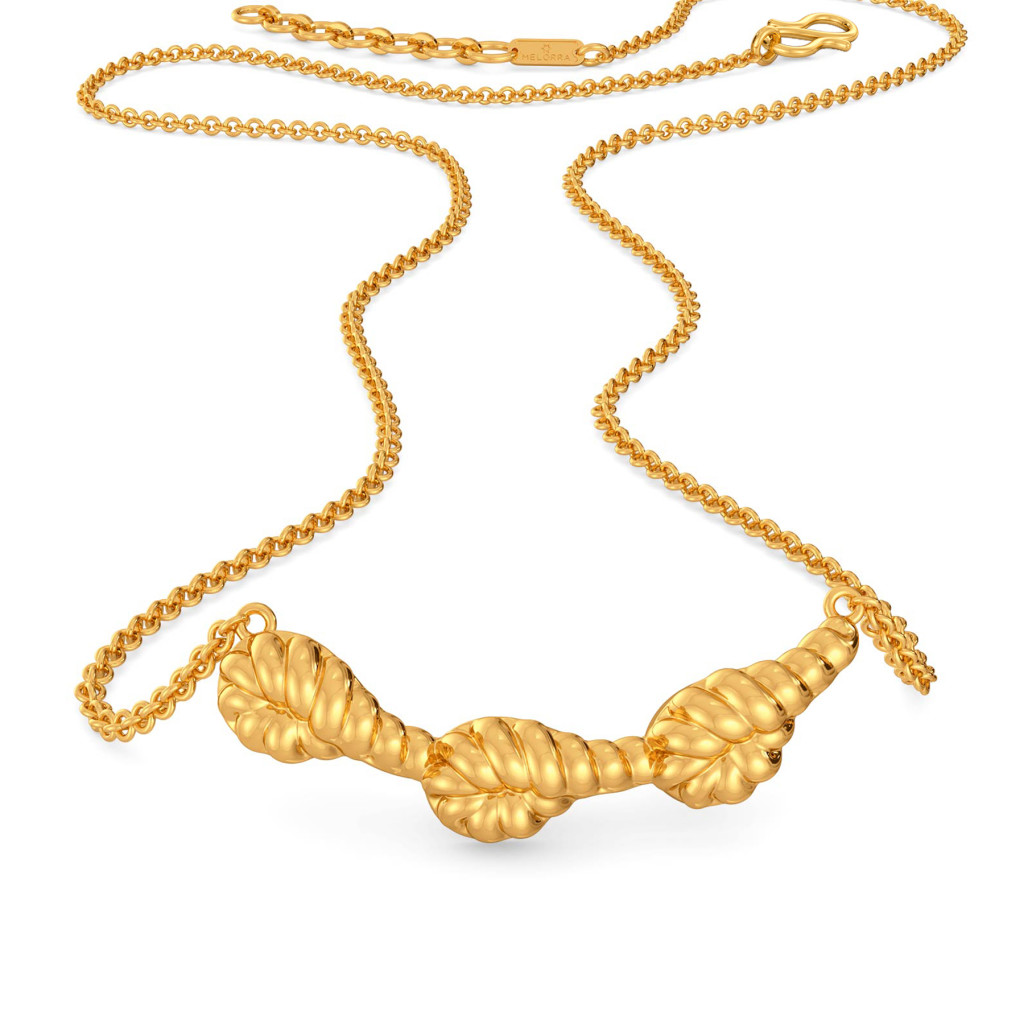 Flick A Fringe Gold Necklaces
