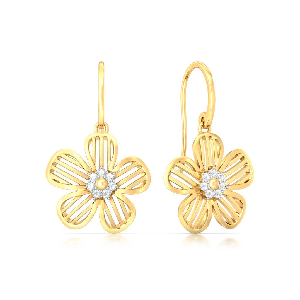 Daisy-Dee Diamond Earrings