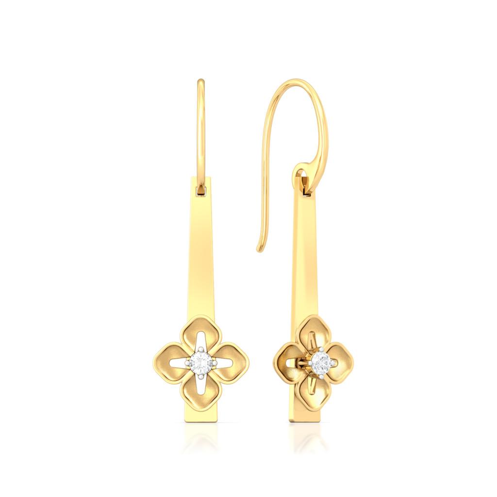 Baby Bloomers Diamond Earrings