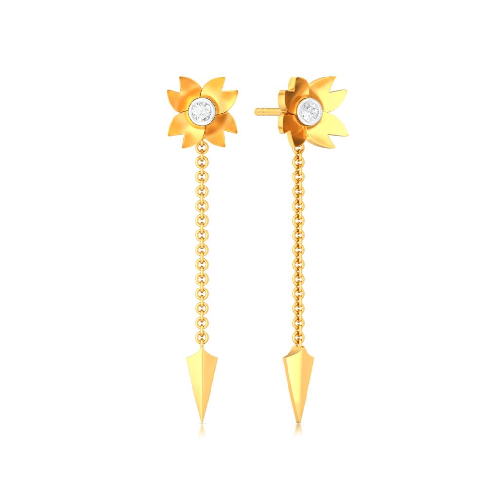 Roesia Diamond Earrings