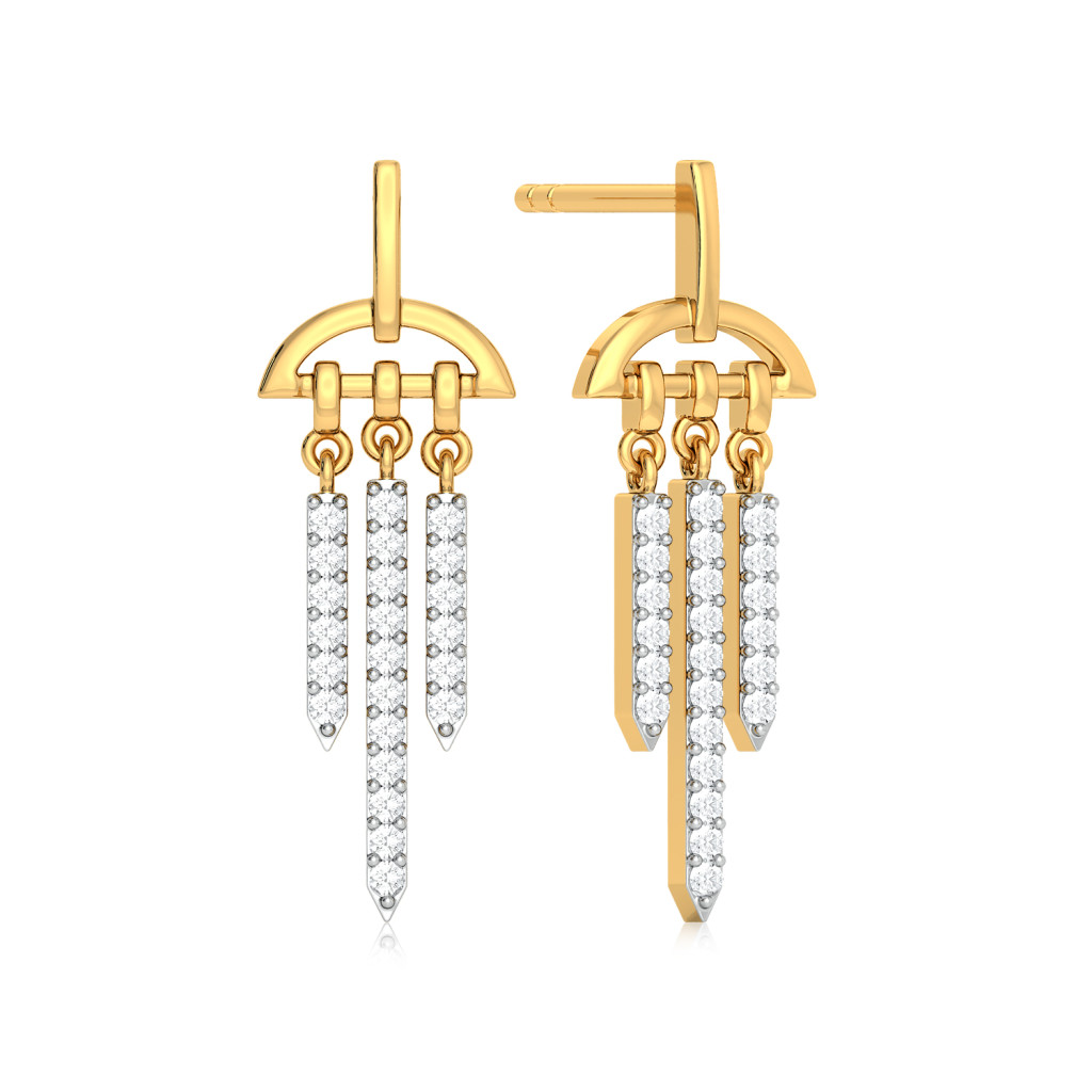 Glimmer Glow Diamond Earrings