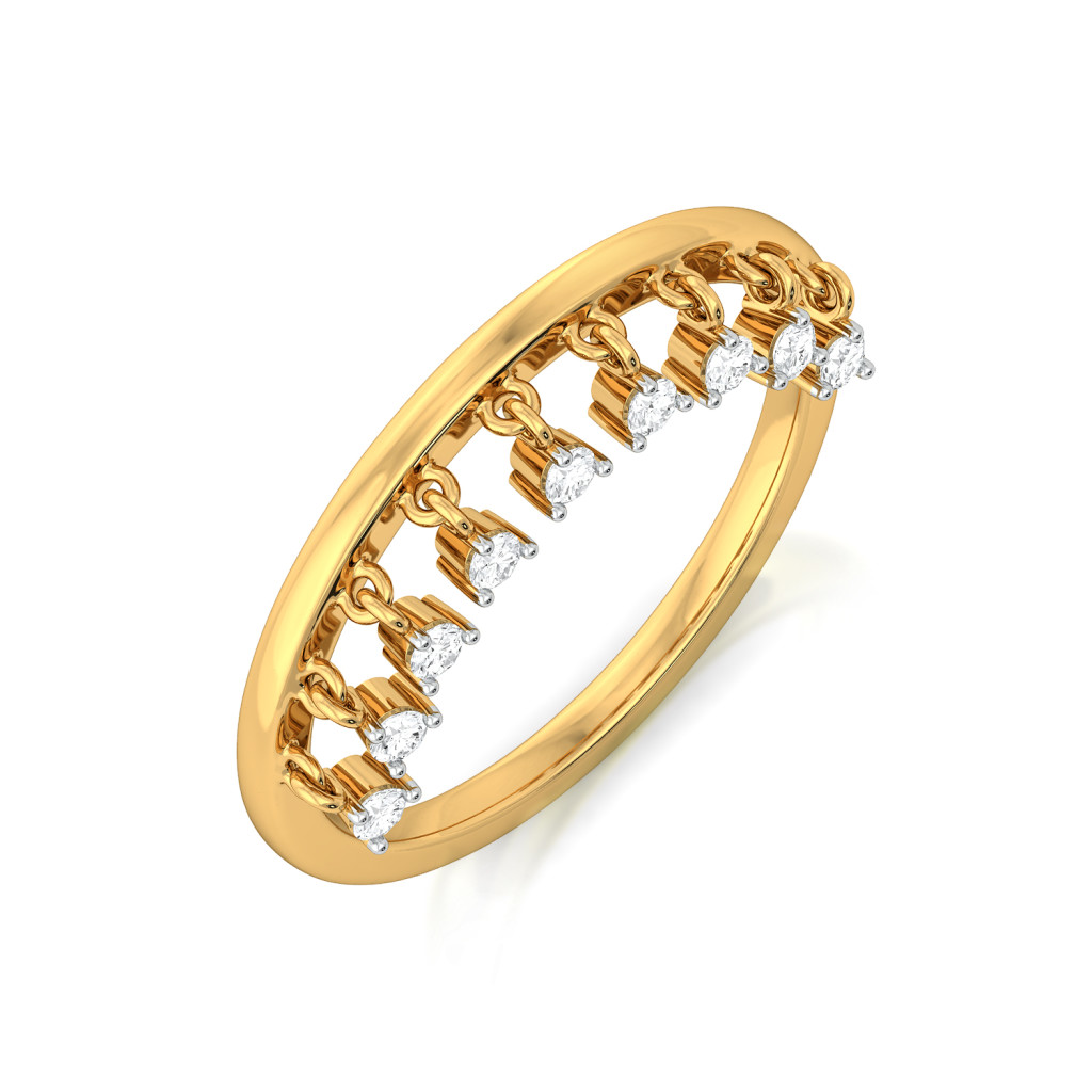 Glimmer Glow Diamond Rings