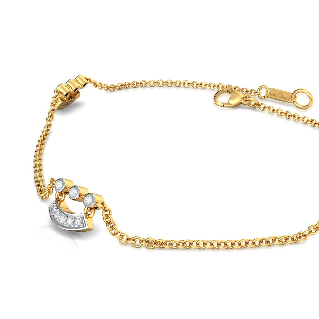 Dingle Dangle Diamond Bracelets