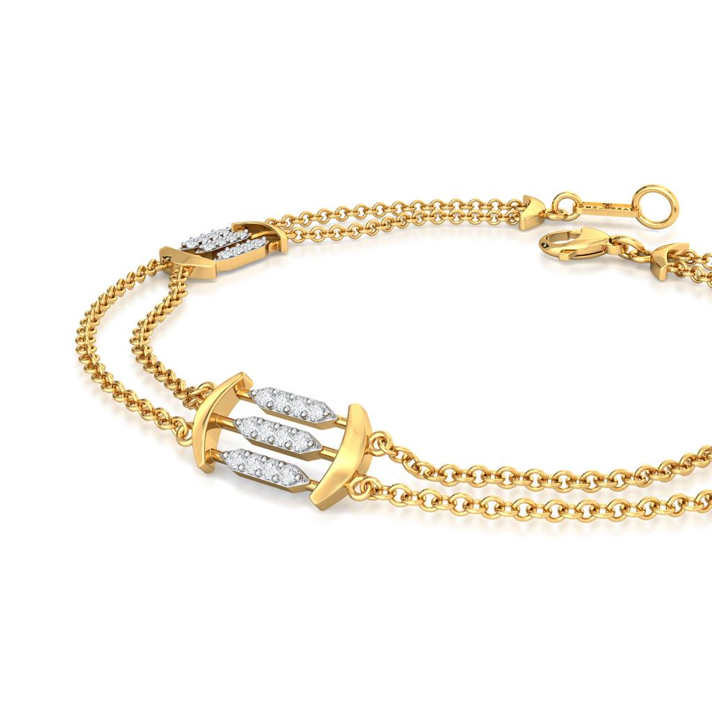 String Bling Diamond Bracelets