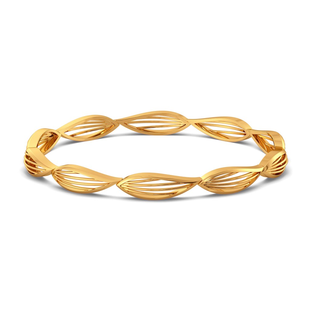 A Lily Link Gold Bangles