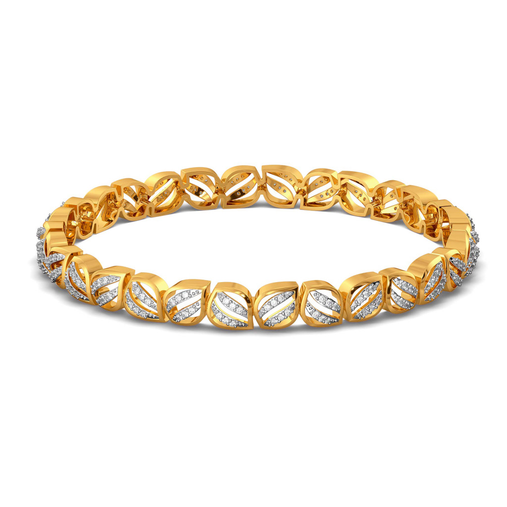 A Petal Place Diamond Bangles