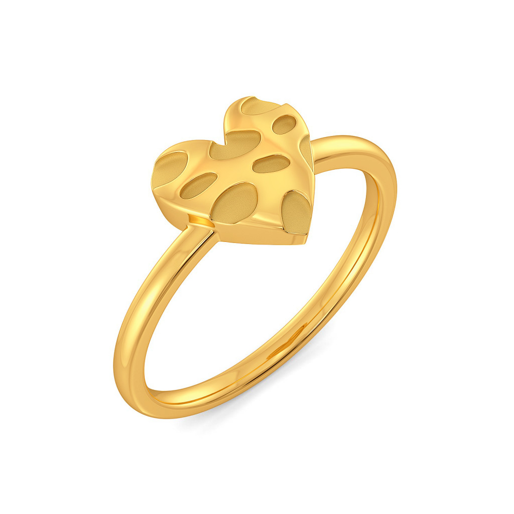 Love at First Sight Gold Rings