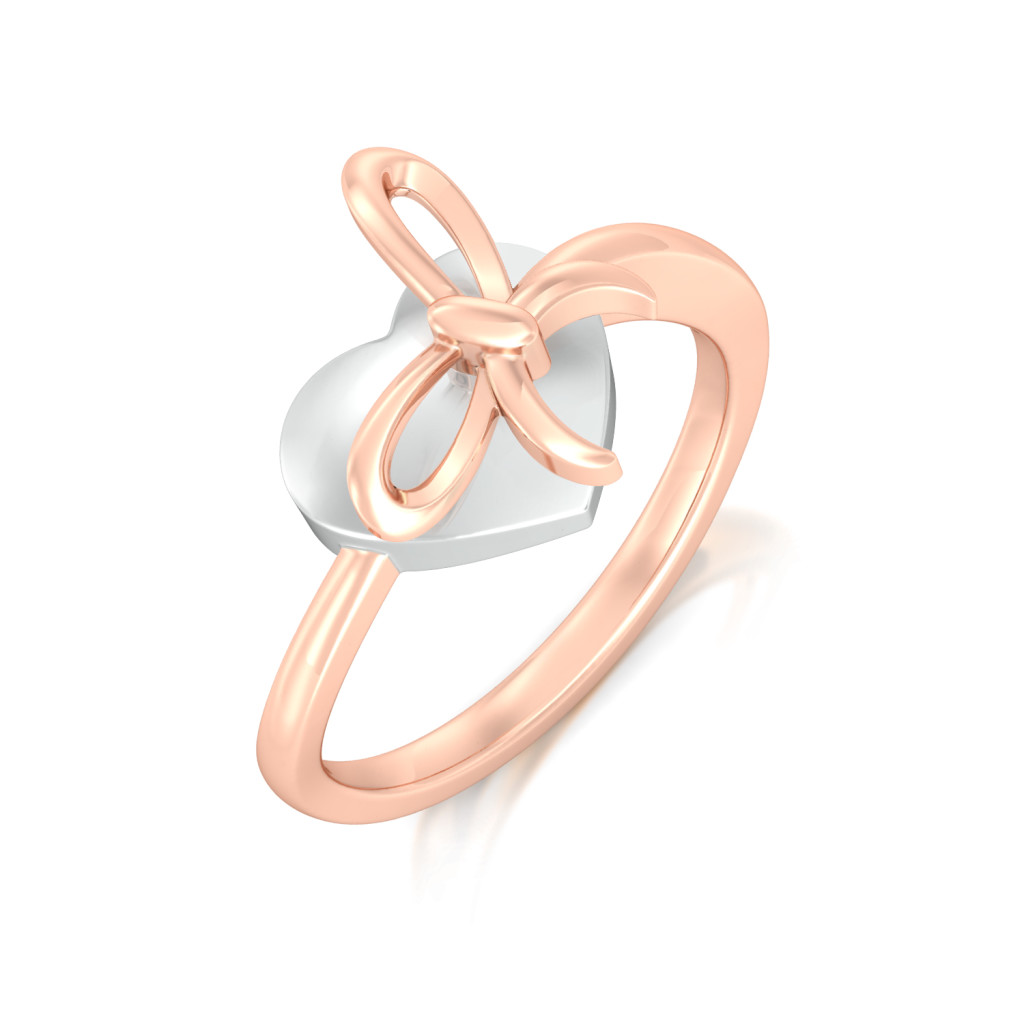 Nots to Knots Gold Rings