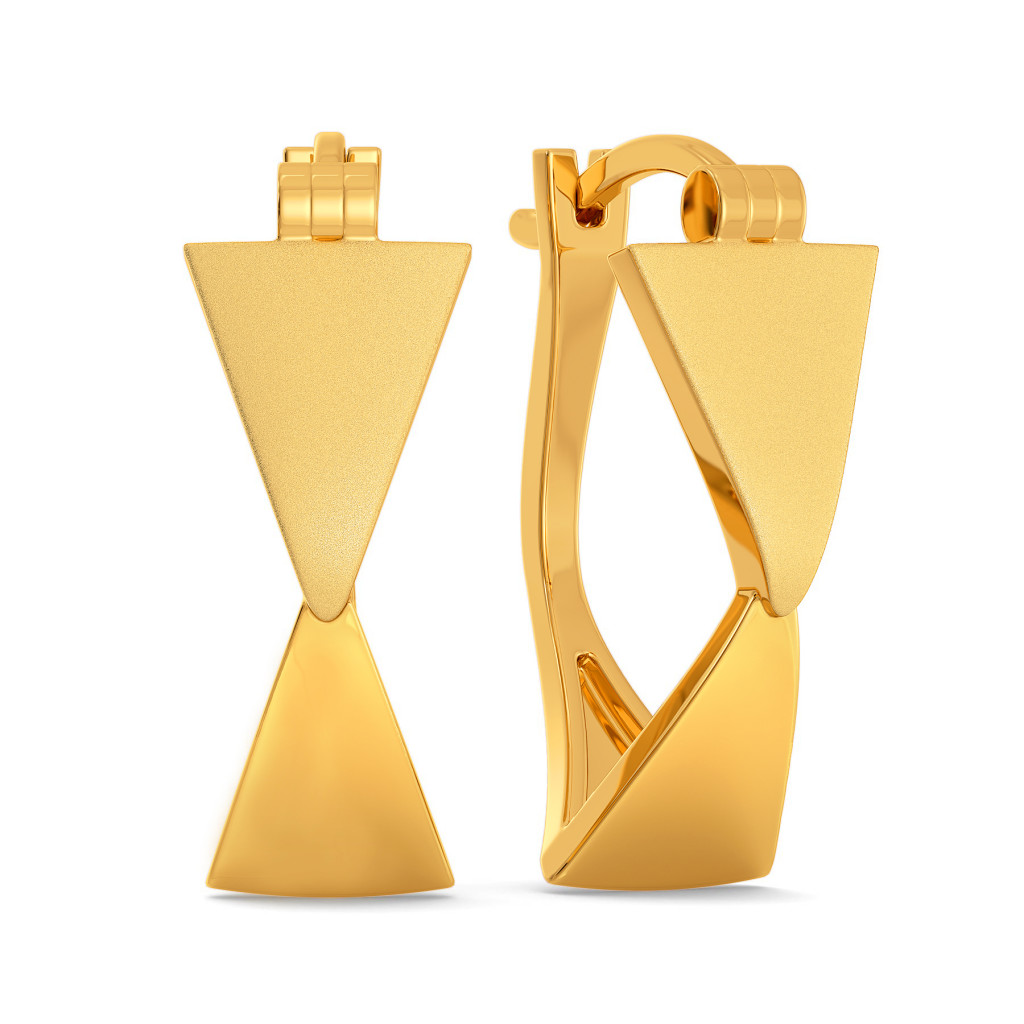 Refined Refresh Gold Earrings