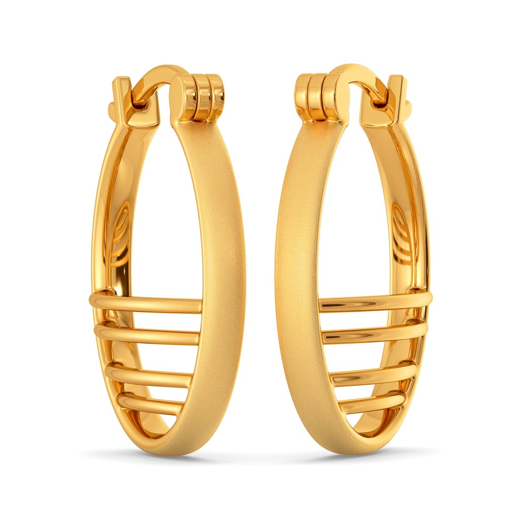 Parisian Panache Gold Earrings
