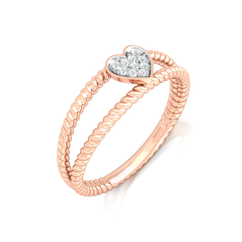 Smitten Kitten Diamond Rings