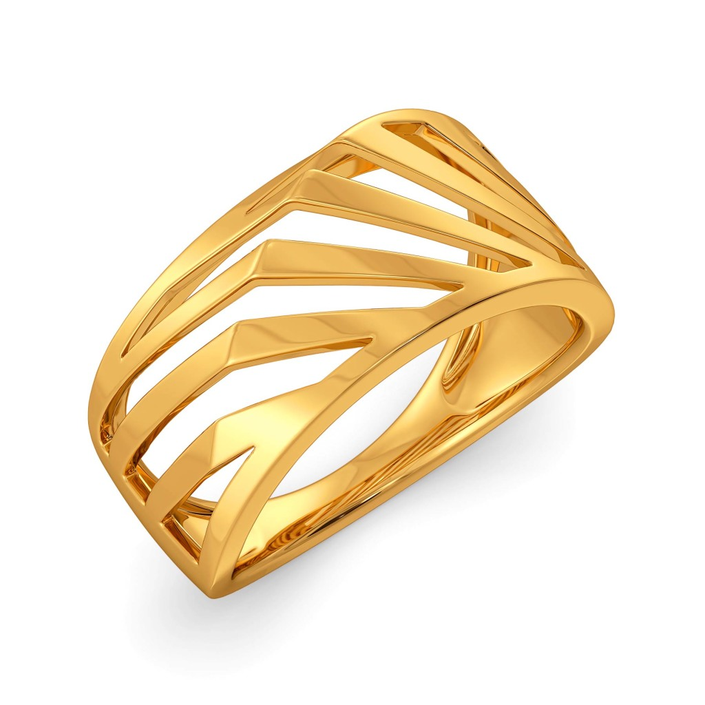 The Rebel Bell Gold Rings