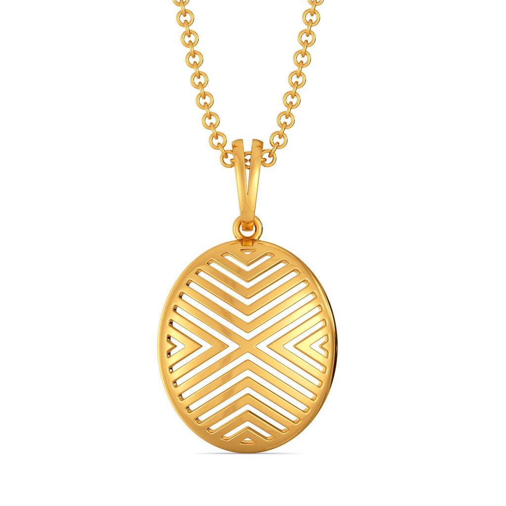 Bold Essentials Gold Pendants